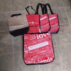Lululemon Shopping Bad Bundle of 5